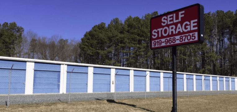 Self Storage in Pittsboro, NC