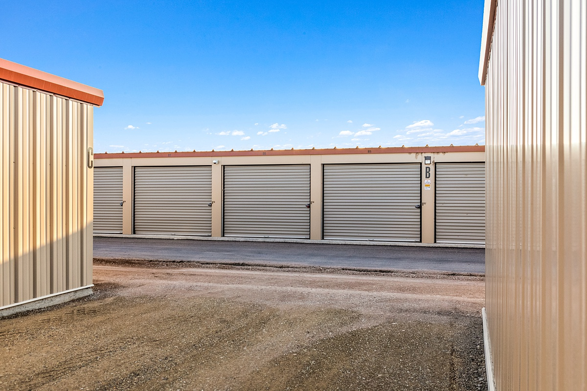 Self Storage Units with outside access