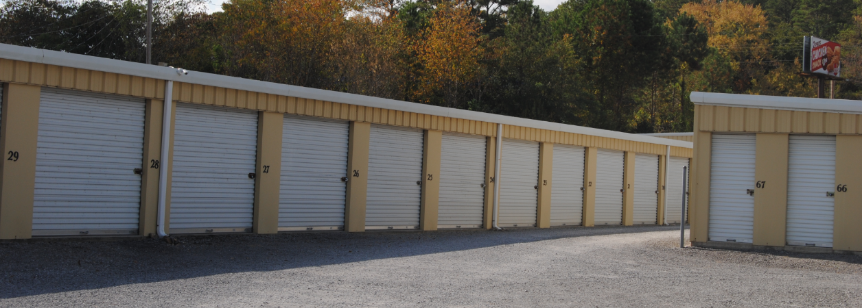 Storage units in Scottsboro, AL