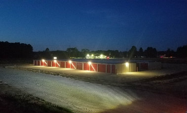 Storage Facility Night Shot