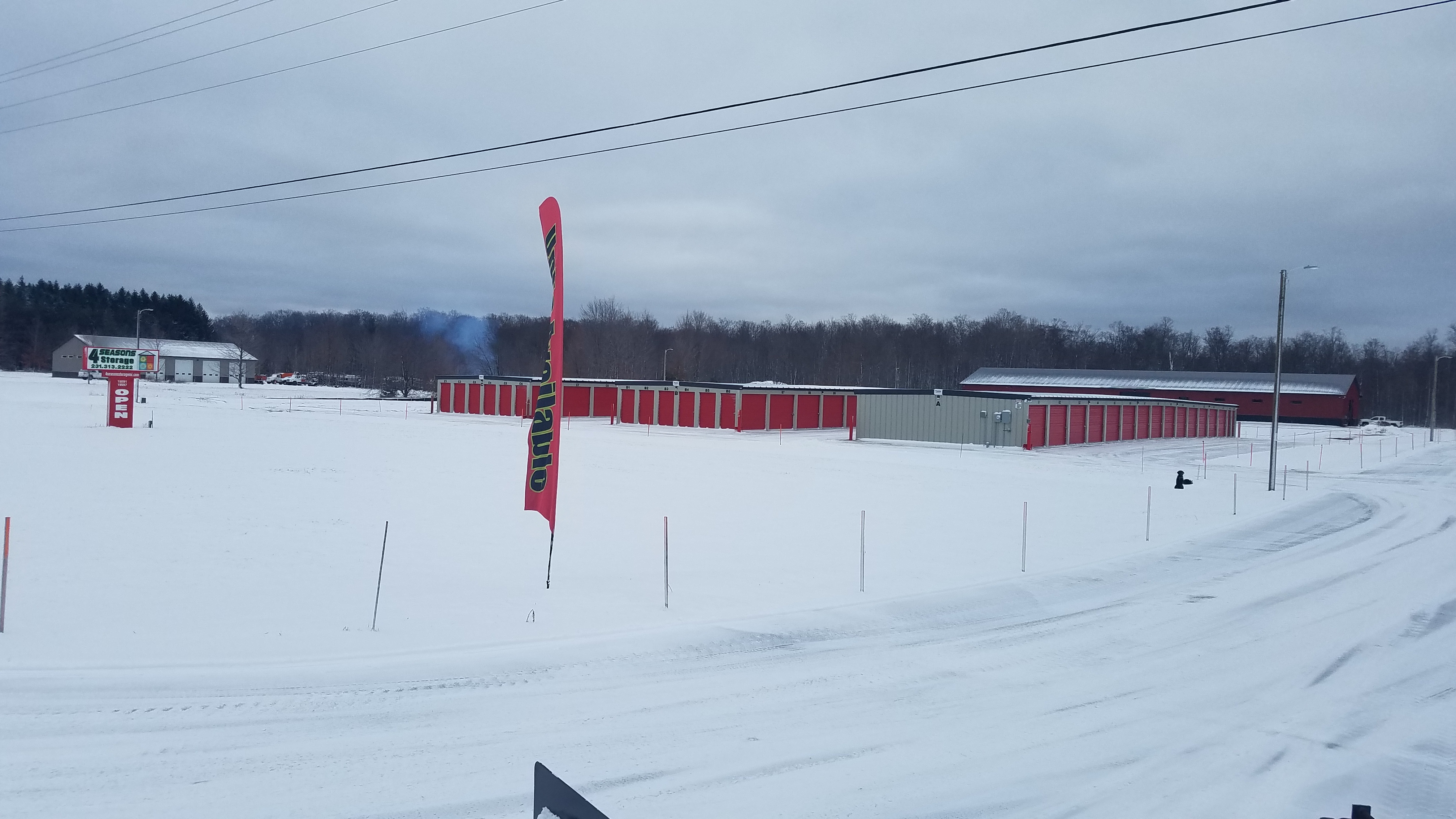 Facility always cleared of snow