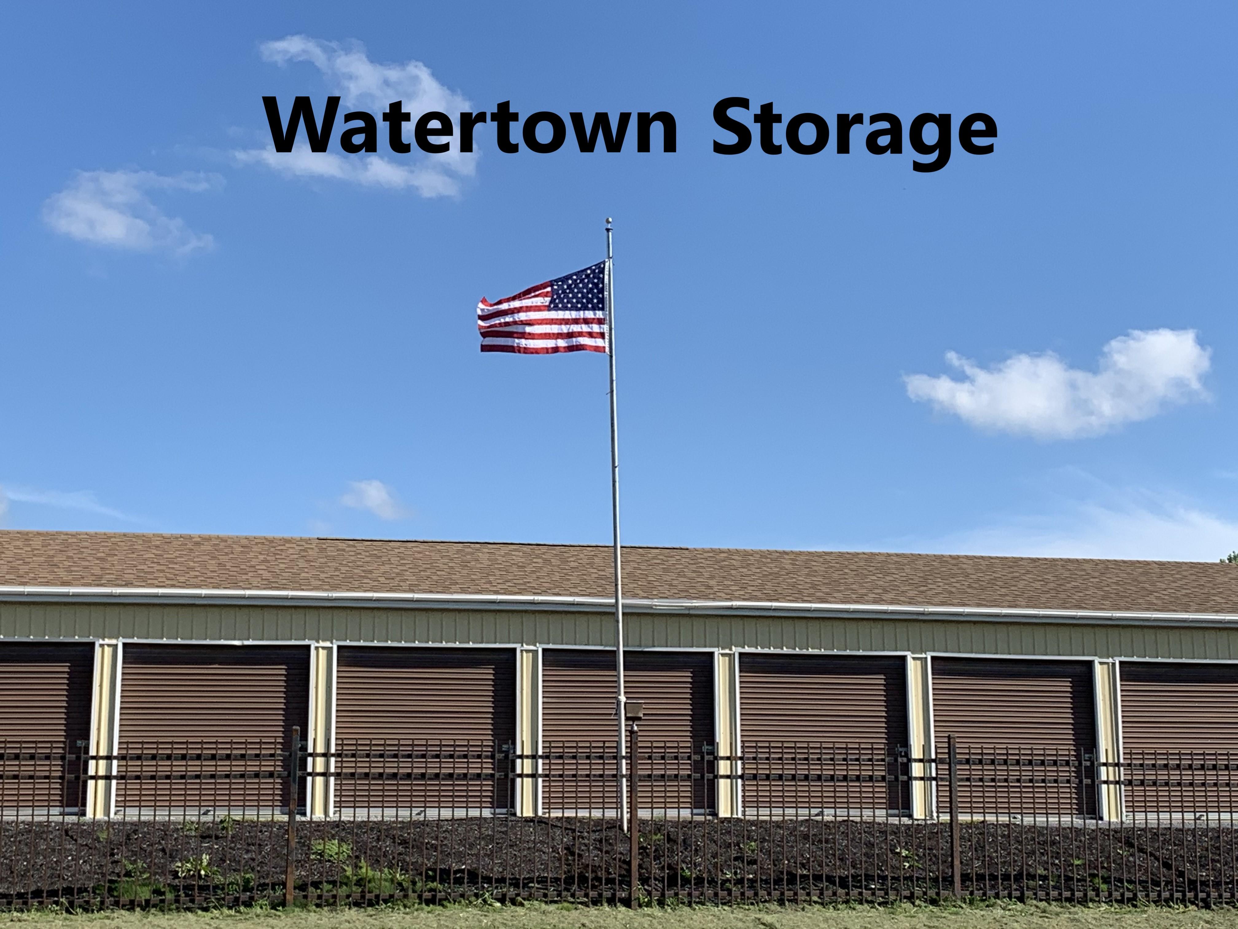 watertown storage flag