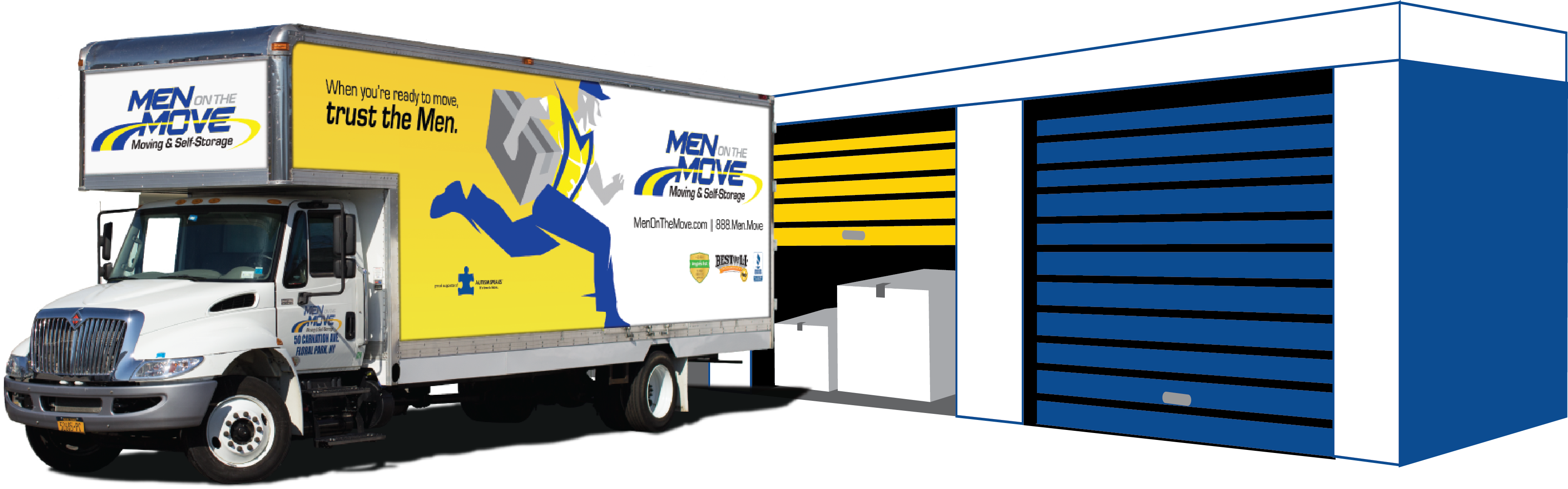 Moving and Self Storage Long Island