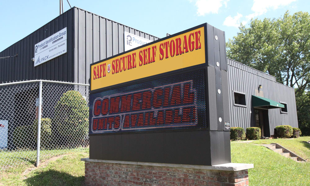 Safe and Self Storage Commercial Units
