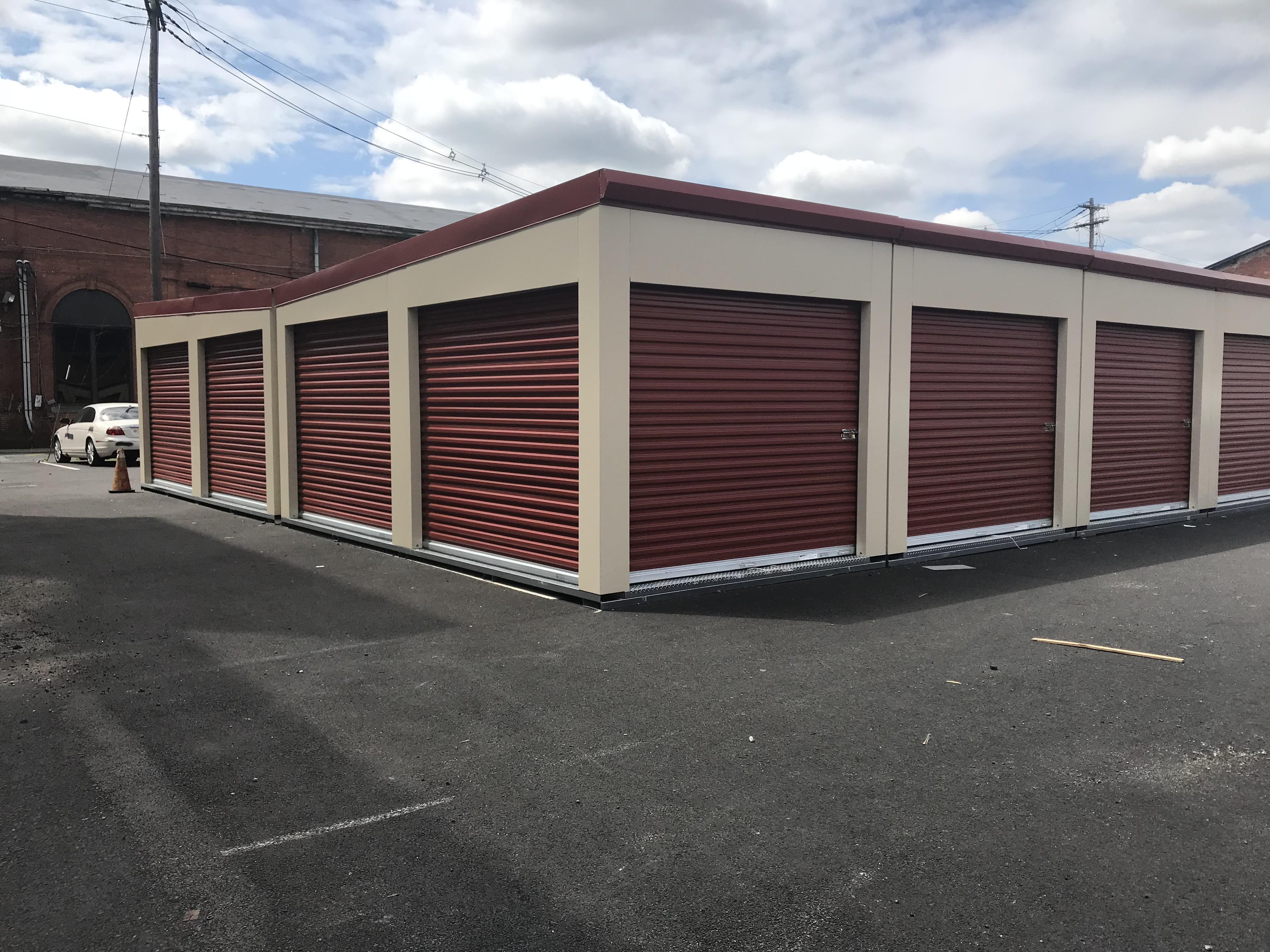 Exterior Self Storage Units