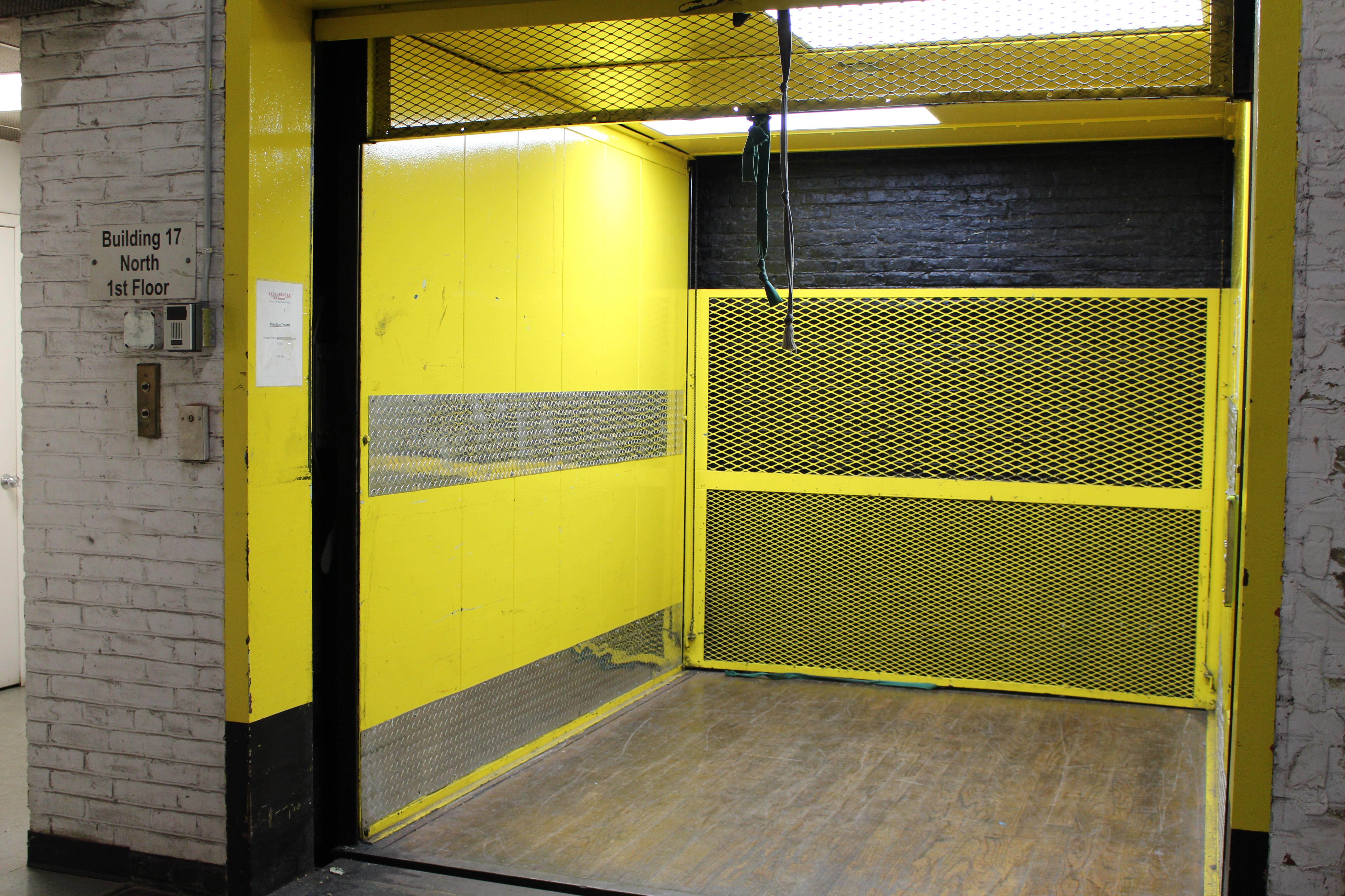 Loading Elevator Self Storage