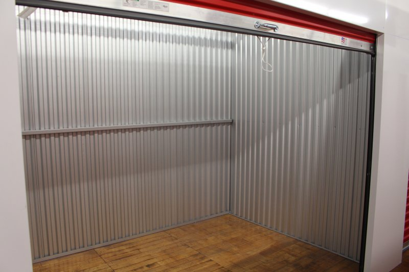 Inside one of Storage Units