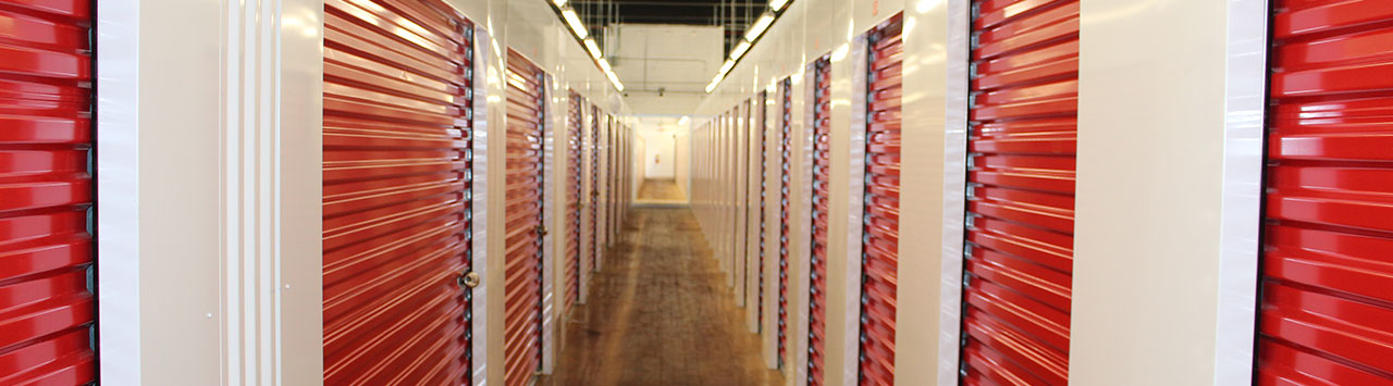 Interior Units at Safe and Secure Self Storage