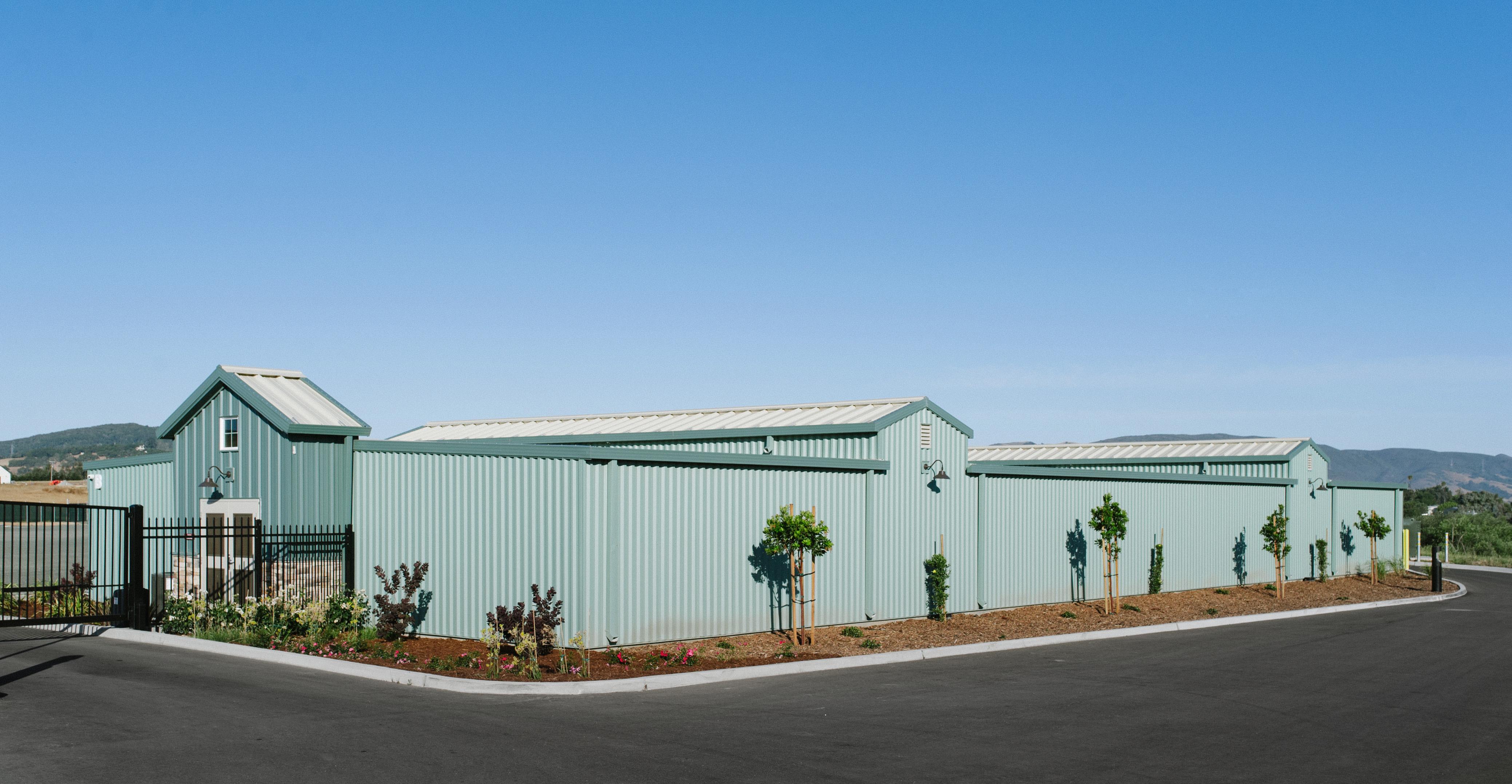 C Building exterior