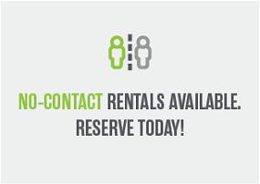No Contact Rentals Available
