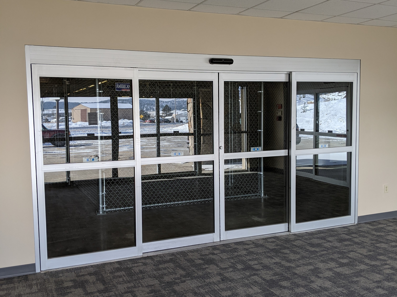 automatic entrance doors