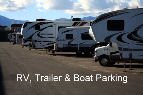 RV Trailer & Boat Parking