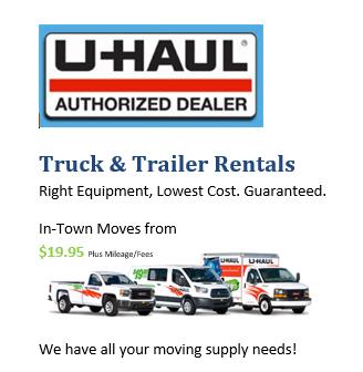 Offering U-Haul Rentals