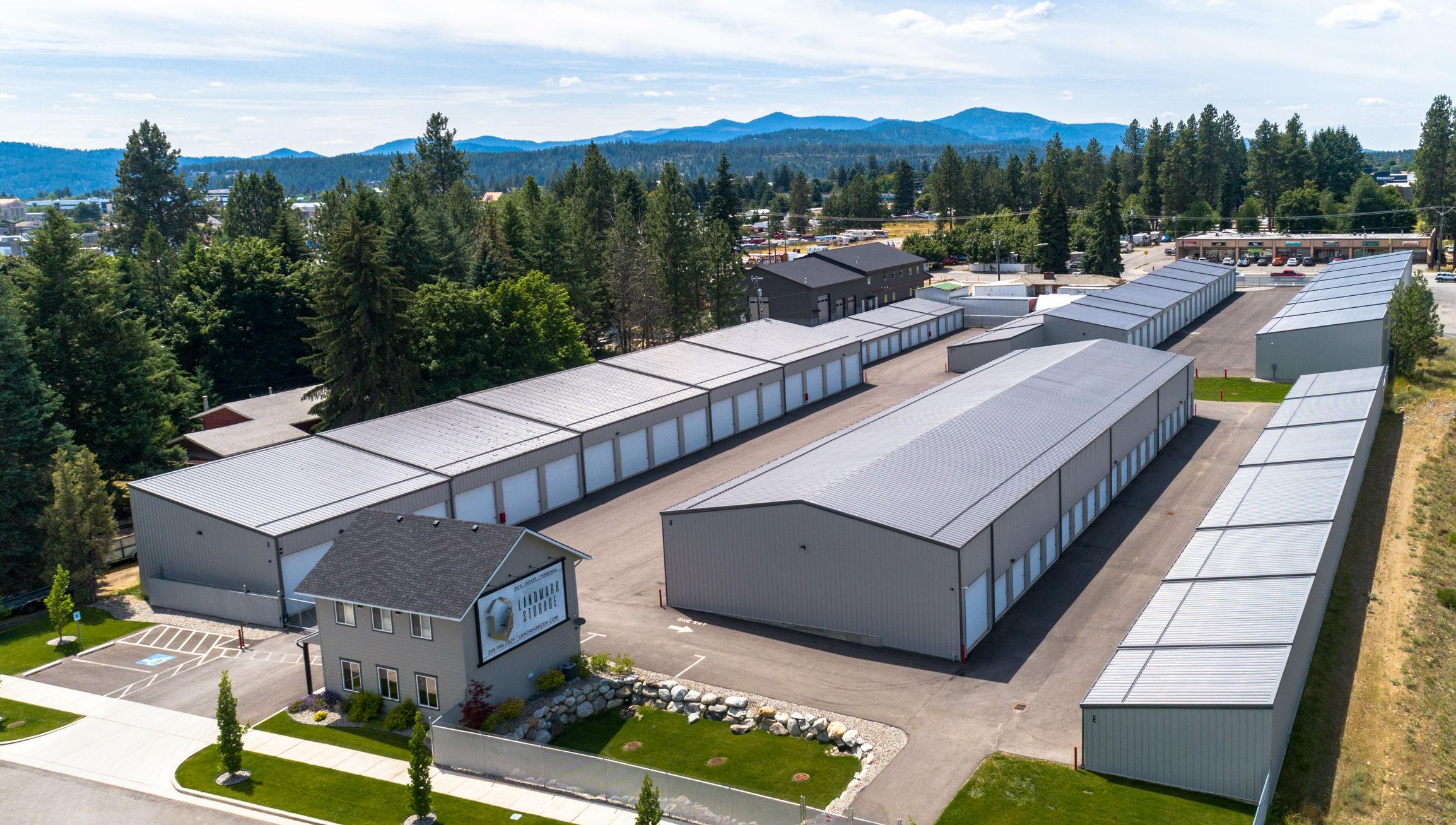 Landmark Storage Aerial