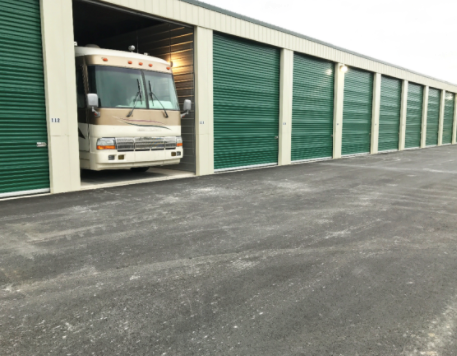 Indoor RV Parking