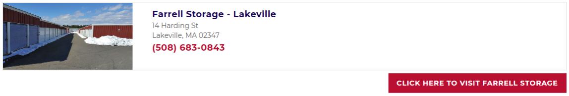 Farrell Storage Lakeville
