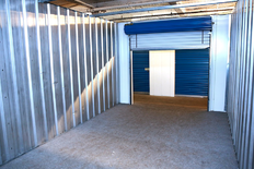 Interior of Storage Unit in Salem, MA
