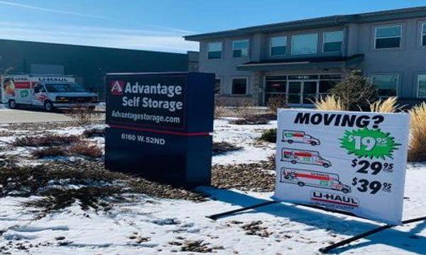U-Haul Truck Rentals at Advantage Self Storage Arvada, CO