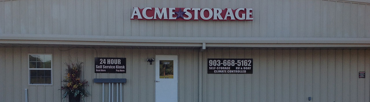 Self Storage Units in Hallsville, TX | Acme Storage