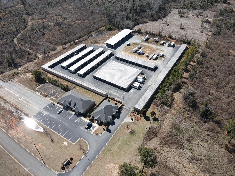 Aerial View - Bob White Self Storage