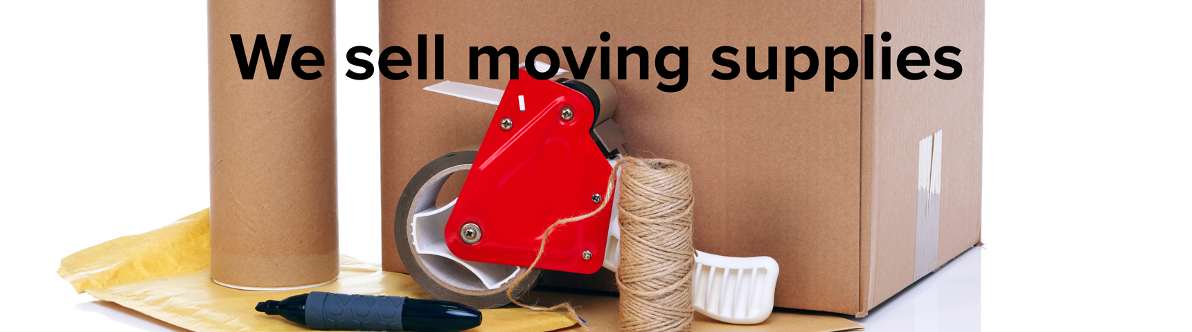 We sell moving supplies near Peekskill, NY