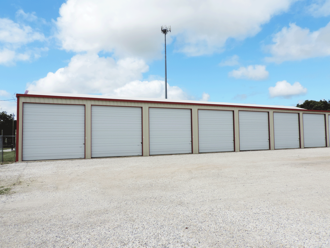 Enclosed RV, Trailer Storage