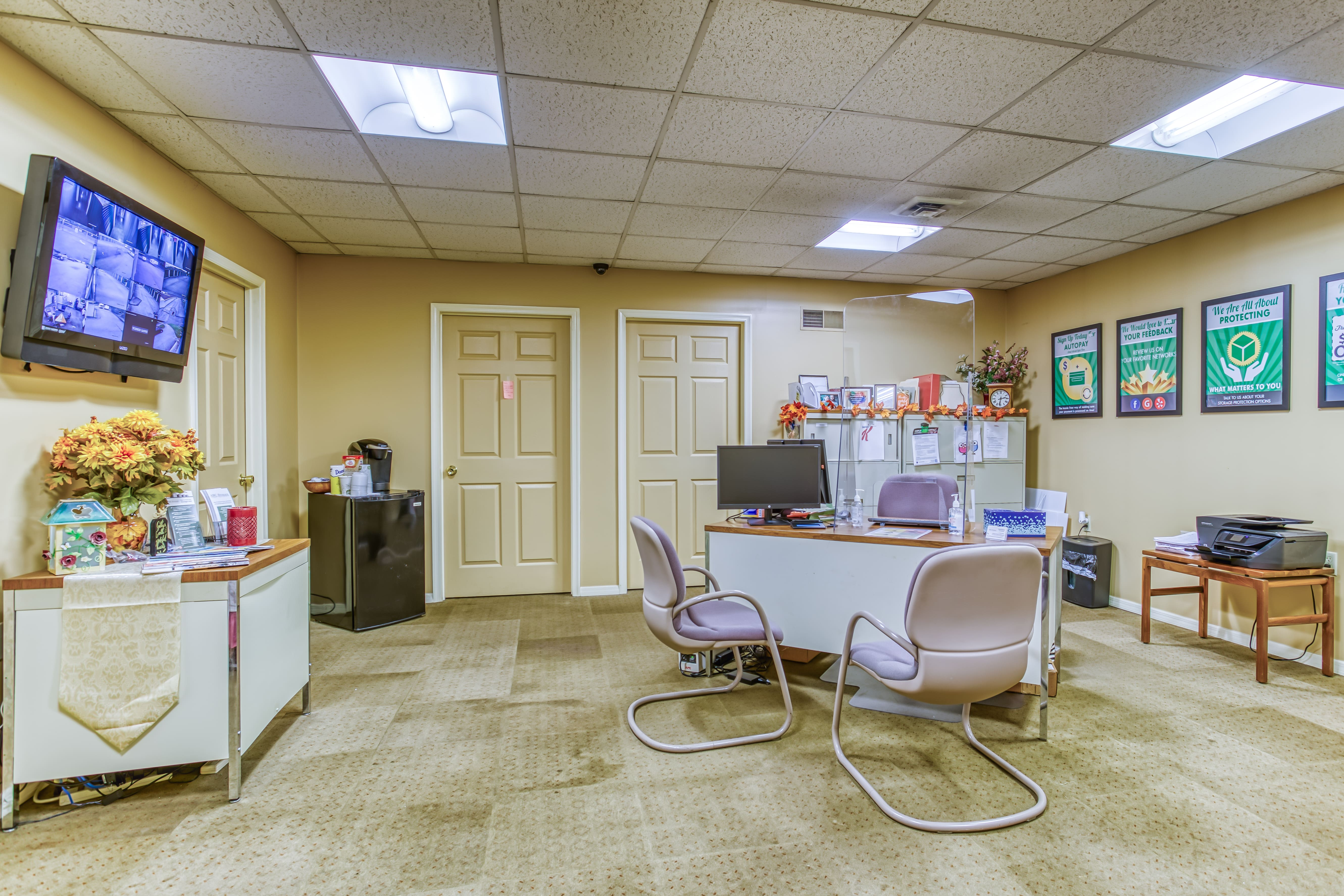 Storage Rental Office in Harrisburg PA