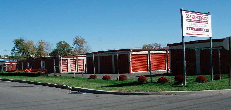 GAP Self Storage facility from street