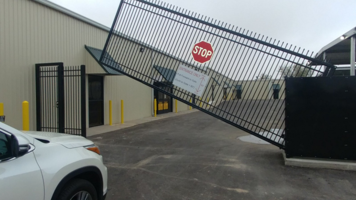 Odessa, TX The LockUp Storage Services is Fenced and Gated