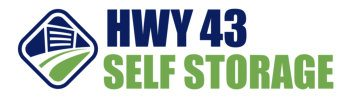 Highway 43 self storage logo
