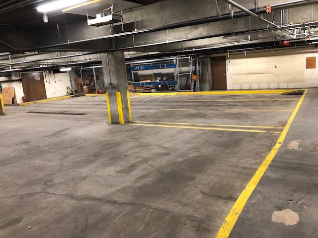 indoor parking lot storage