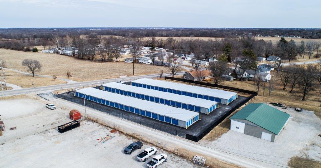 Big Tee's Self Storage facility