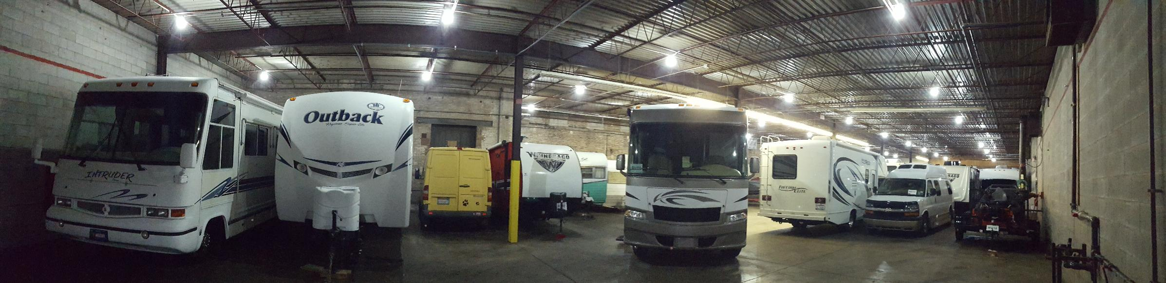 Alpha Storage Michigan City Indoor, Heated Boat, RV storage