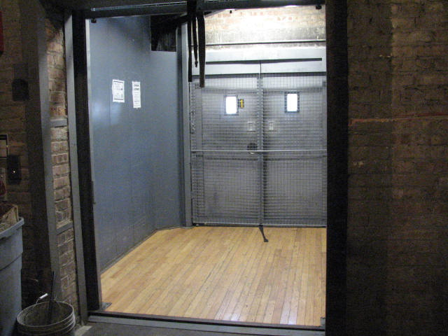 Self Storage Elevator to go up to your storage floor