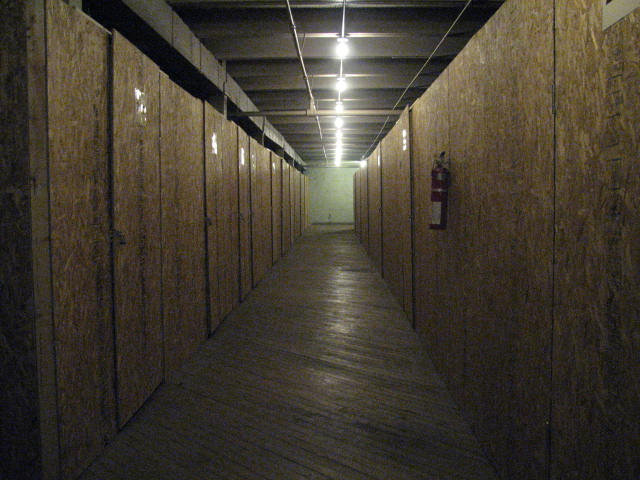 Alpha Storage Michigan City Indoor Storage Unit Hallway