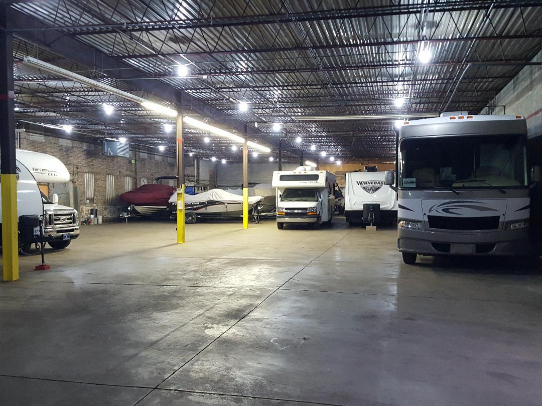 Alpha Storage Michigan City Indoor, Heated Boat, RV storage