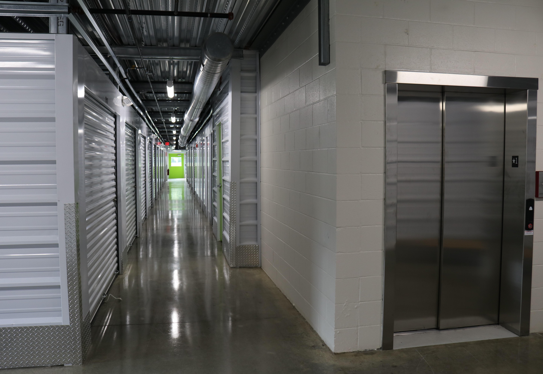 Indoor Storage Hallway