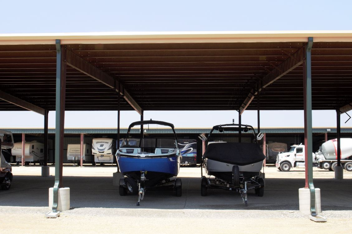 boat and rv storage in Celina, TX