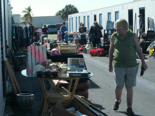 University Storage yard sale