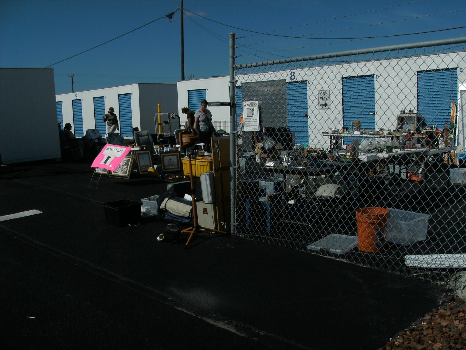 sale at storage facility Sarasota, FL