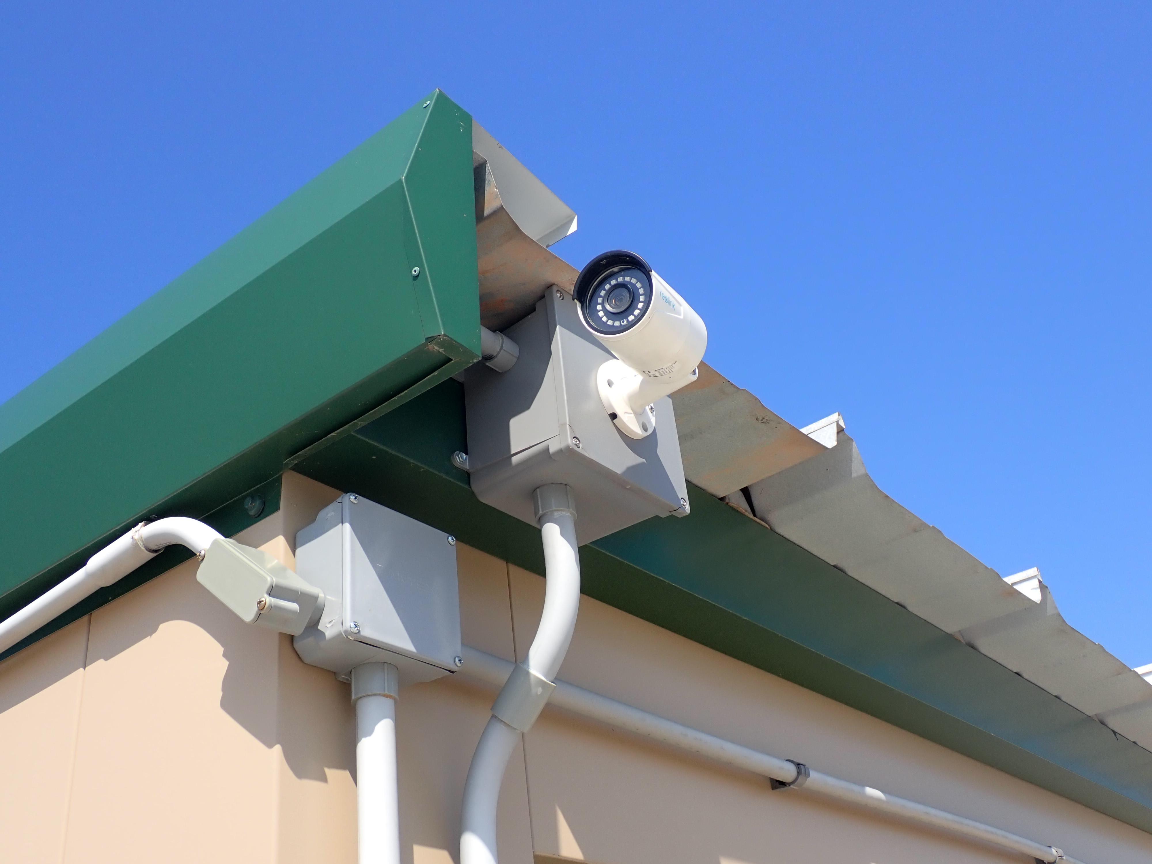 Video surveillance for secure storage in Manistee, MI