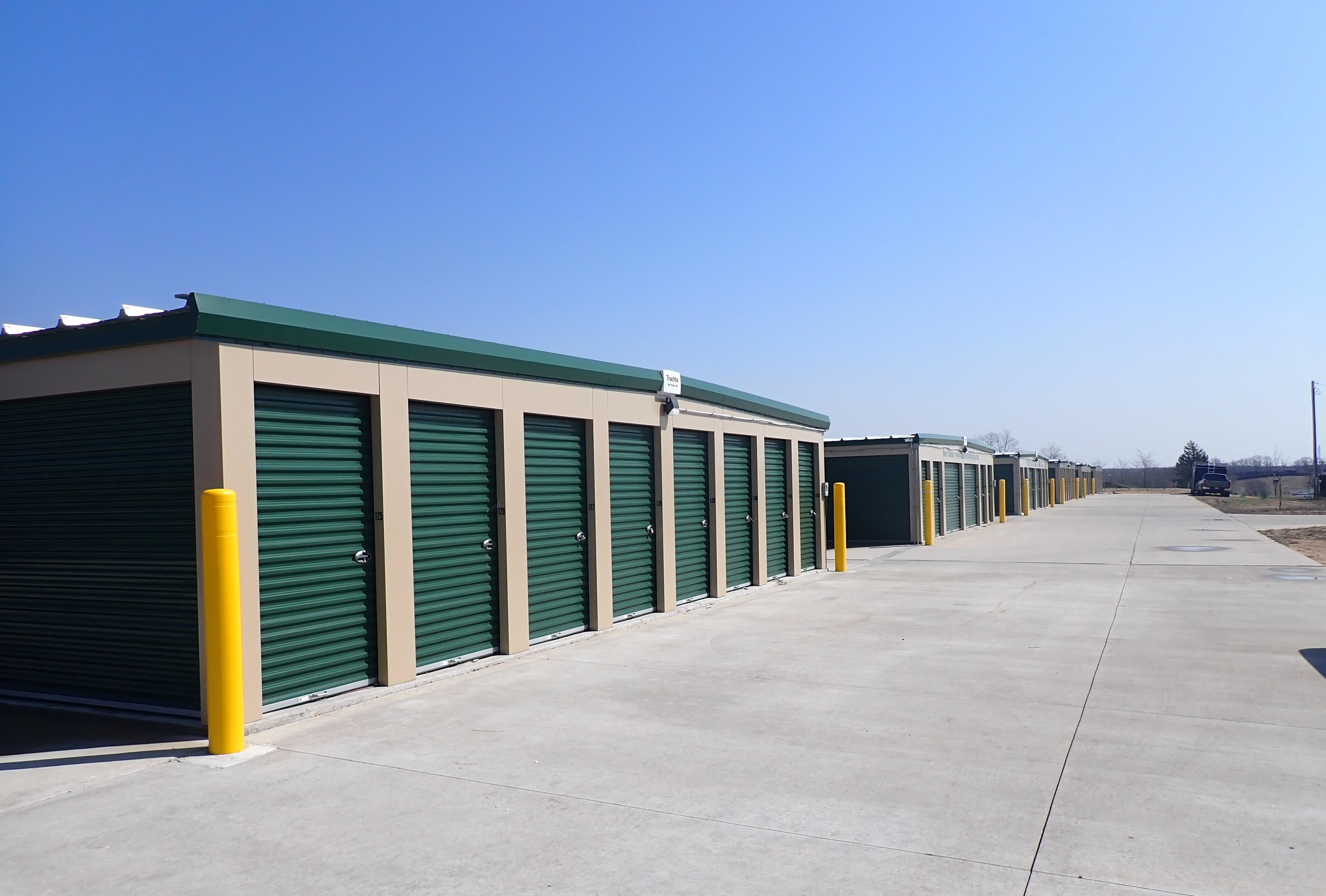 Newly constructed storage facility in Manistee, MI