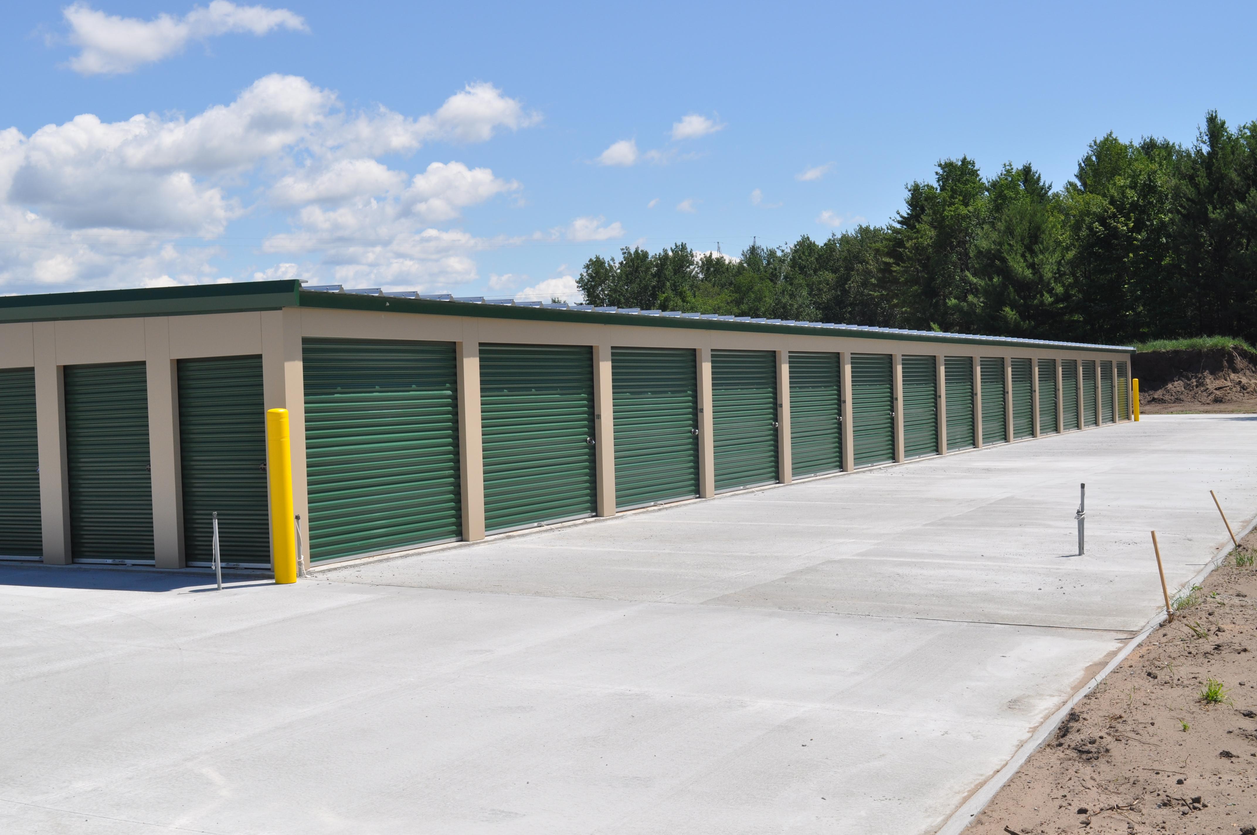 Drive up storage units in Ludington, MI