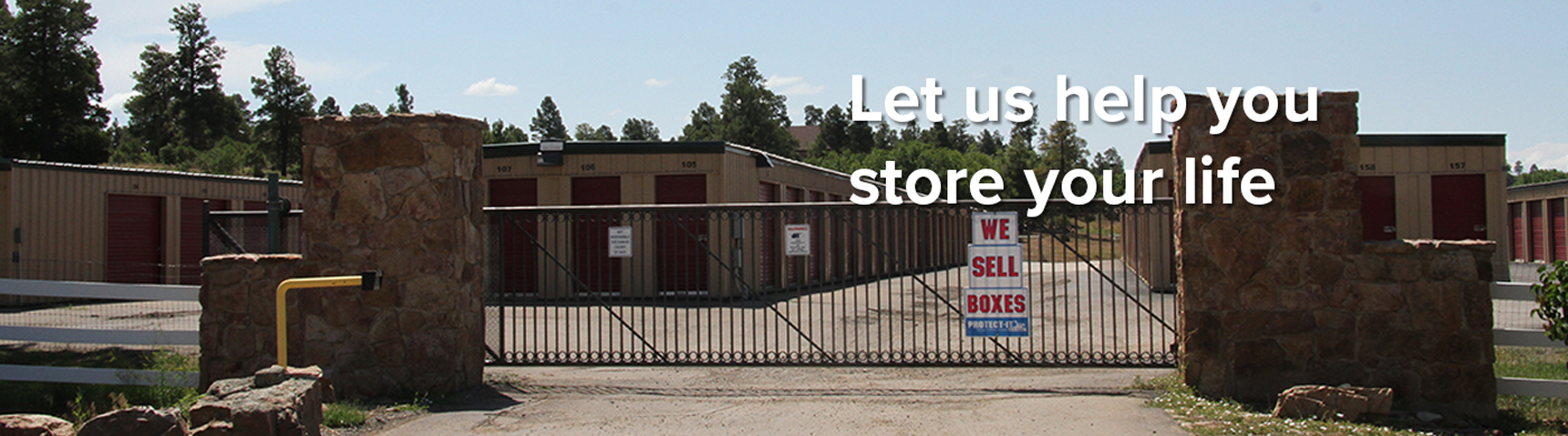 Let us help you store your life
