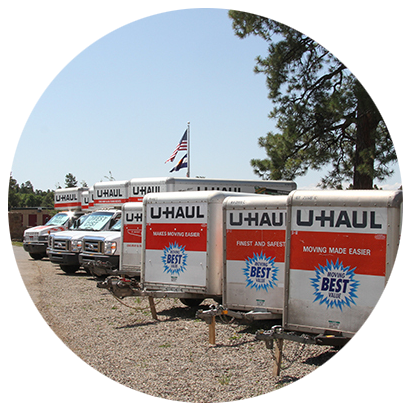 U-Haul Truck Rentals at A Affordable Storage Pagosa Springs, CO