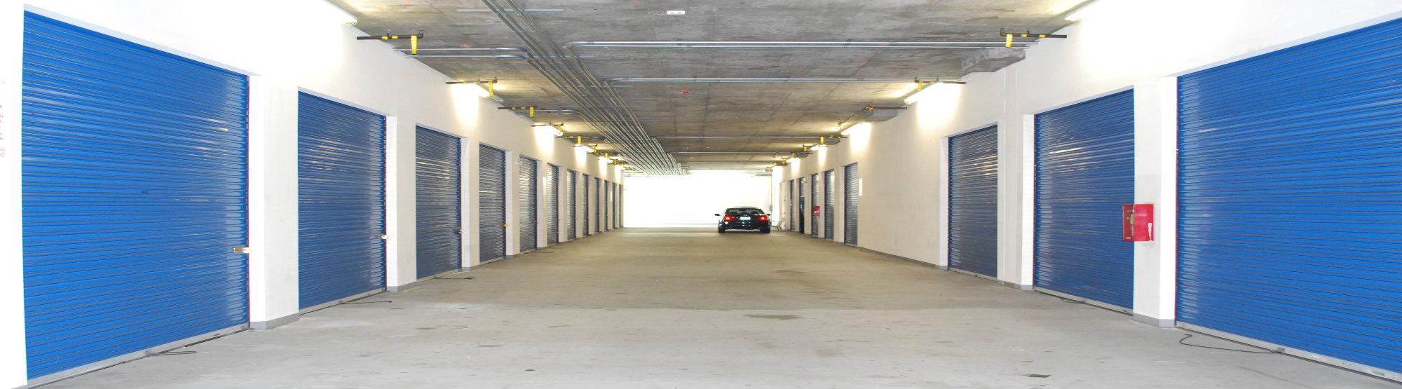 inside storage units California