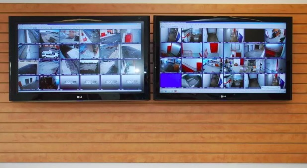 security cameras on site South Gate, CA