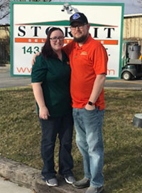 On-Site Managers: Josh and Christie