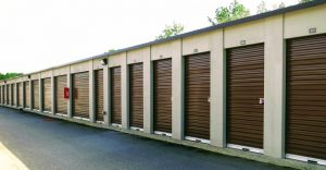 row of storage units Moultrie, GA