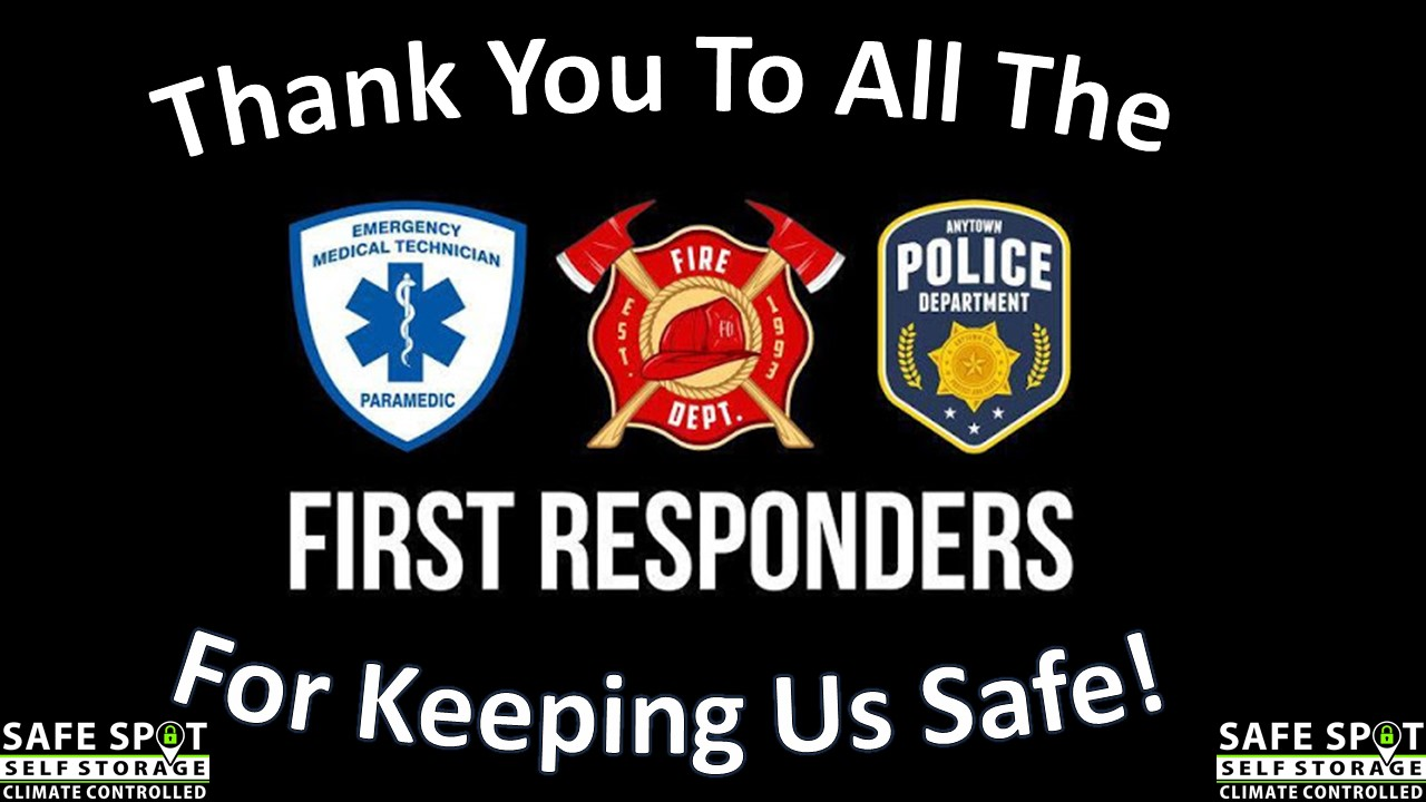 First Responders Thank You